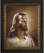 Head Of Christ by Warner Sallman - Dark Ornate Framed Print - $45.00 - $85.00
