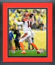 Andy Dalton 2016 Cincinnati Bengals Action - 11 x 14 Matte/Framed Photo - $42.95