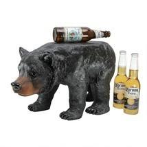 Cabin Lodge Decor Wild Animal Black Bear Step Stool Home Decor Bear Scul... - $123.70