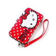 Hello Kitty Glitter Polka Dot Smartphone Wristlet Wallet - NWT - $22.99