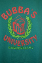 "Bubba's University T-Shirt Summersville WV ""I Wuzn't There I Wuzn't Drin... - $17.23"