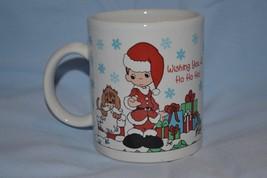 Precious Moments Coffee Mug Christmas Collectible Enesco  - $22.99