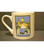 The Simpsons Homer Simpson Coffee Mug Expertise Discovery 2010 - $17.23