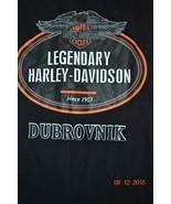 Harley-Davidson Motorcycles Dubrovnik Legendary Since 1903 T-Shirt Sz. L... - $28.74