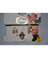 Disney Minnie Mouse (3) Charms for Rubber Band Jewelry Rainbow Loom Band... - $12.64