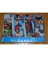 Marvel Avengers Assemble & Spiderman 3 Tower Puzzles & Memory Match - NIP - $14.03