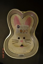 Wilton Bunny Cake Pan Easter Step by Step 2105-2074 - NEW - $23.59