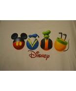 Disney Store T-Shirt Mickey Donald Goofy Pluto  Sz. Large - $23.59