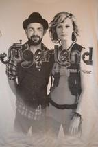 Sugarland The Incredible Machine Tour 2001 T-Shirt Jennifer Nettles Coun... - $21.23