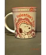 Peanuts Snoopy Happy Valentine's Day Coffee Mug  - $23.59