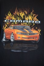 Camaro  T-Shirt Car Flames Chevy Chevrolet Sz. L XL - $17.69