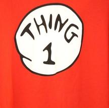 """Thing 1"" T-Shirt Dr. Seuss Red Size 3XL XXXL - $17.69"