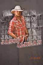 Jason Aldean Concert T-Shirt Live 2010-2011 My Kinda Party Size Medium - $20.05