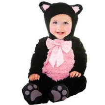 Kitty Cat Cutie Infant Halloween Costume Size 0-6 6-12 12-18 months Dres... - $23.59