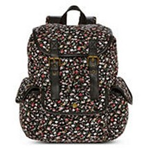 Olsenboye Floral Disty Print Backpack School Book Bag - NWT - $53.09