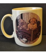 Anheuser Busch Inc. Coffee Mug Official Product Puppies Dogs St Louis, Mo - $17.69