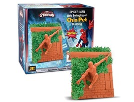 Spider-Man Chia Pet Handmade Decorative Planter... - $23.59
