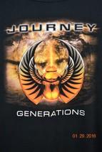 Journey Generation Concert T-Shirt Tour 2005 Black Size 2X XXL - $29.74