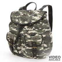 Mudd® Studded Camouflage Backpack Women's Junior's - NWT - $59.49