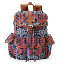 Mudd Brennan Tribal Print Backpack School Book Bag - NWT - $40.49