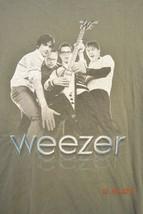 Weezer Concert T-Shirt 2002 Hyper-Extended Midget Tour Vintage Size Medium - $40.31