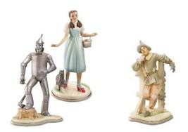 Lenox Dorothy Tin Man Scarecrow Toto Figurines Set of 3 Wizard of Oz NEW... - $450.00