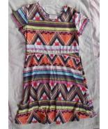 Bobbie Brooks for Girls Geometric Print Dress s... - $14.80