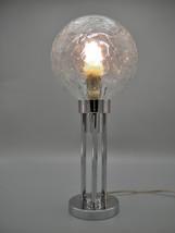CLAUDE-PAZ et SILVA - Marvelous, rare chrome modernist Art Deco Lamp fro... - $450.00