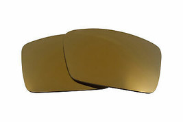 Replacement Lenses for Oakley Gascan S Sunglasses Anti-Scratch Gold Mirror - $6.92