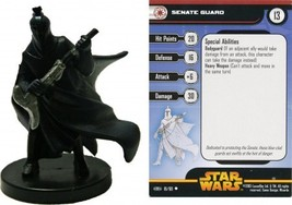 Star Wars SENATE GUARD Revenge Of The Sith 18/60 - $1.09