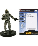 Star Wars CLONE TROOPER GUNNER Revenge Of The Sith 11/60 - $0.95
