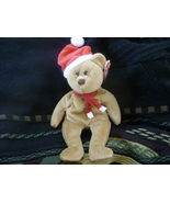 TY Beanie Baby 1997 Holiday Teddy 4th Gen Retired Dec 31 1997 Mint Tags ... - $9.99