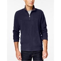 Club Room Quarter-Zip Mock-Neck Fleece Blue 2XL - £30.07 GBP