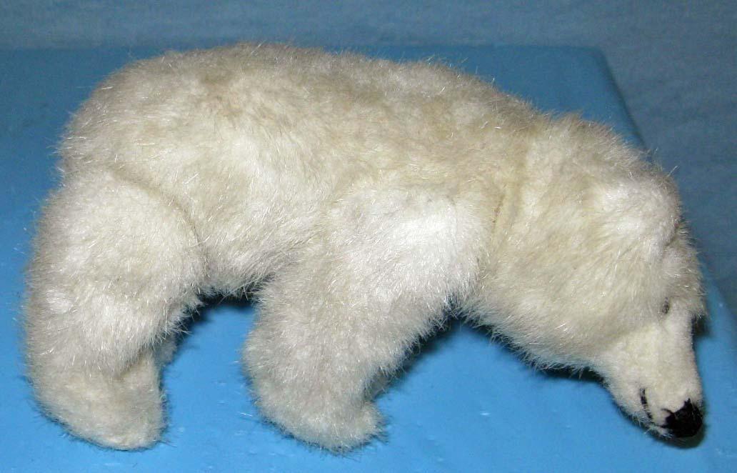 Mini Polar Bear - white - Coca Cola style bear