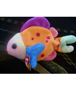 Ty Beanie Baby Lips 5th Gen Fish Retired Dec 23 1999 Mint Tags - $5.05