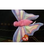 TY Beanie Baby Flitter butterfly 5th Gen Retired Dec 23 1999 Mint Tags - $5.01