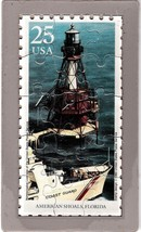 USPS POSTCARD- Lighthouses Commemorative Puzzle... - $10.00