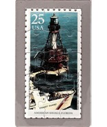 USPS POSTCARD- Lighthouses Commemorative Puzzle series - AMERICAN SHOALS... - $10.00