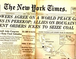 The New York Times, Tuesday, November 2,1946 - $3.95