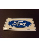NEW FORD 0VAL BLUE  LICENSE PLATE   - $19.80
