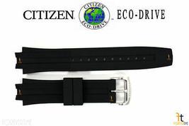 Citizen Eco-Drive BM6900-07E Original 23mm Black Rubber Watch Band CA020... - $94.95