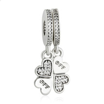925 Best Friends Forever Charm Sterling Silver Charm - $40.00