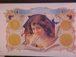 PRETTY GIRL Cigar Box Label - $4.95