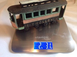 Cast Iron Trolley Car Toy or Home Decor - $16.13