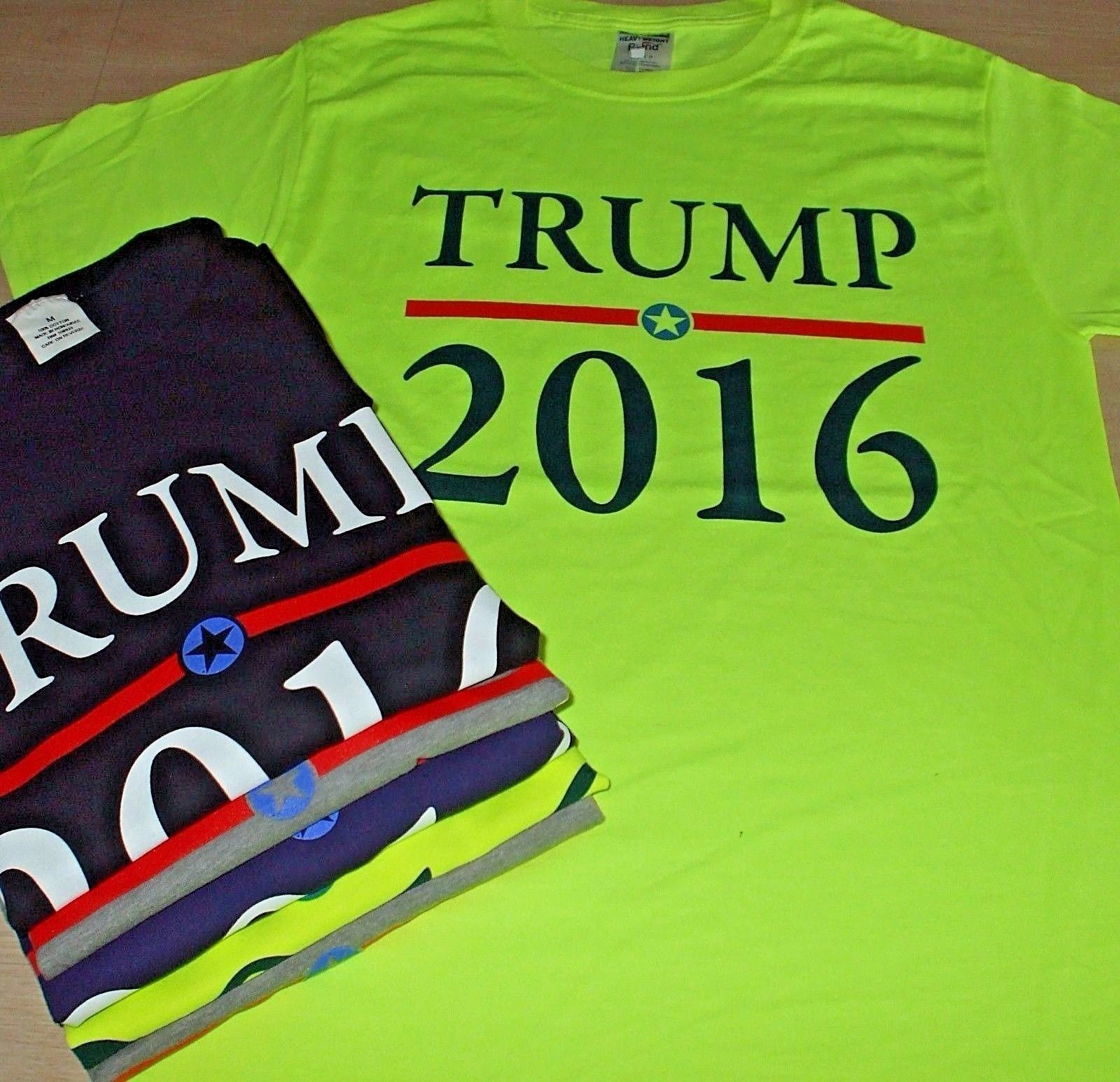 Donald TRUMP PRESIDENT T-Shirt 2016 Election GOP Great America SHIRT Cotton  M