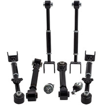 Adjustable Lower Ball Joints + 6 Pieces Of Rear Camber Arm Kit for Hond - $156.42