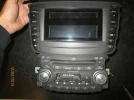 04 05 06 ACURA TL AM/FM RADIO 6 CD DVD CASSETTE PLAYER #39100-SEP-A000 - $201.21