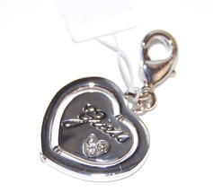 *NWT GUESS Silver Metal & Rhinestone Spinning H... - $29.69