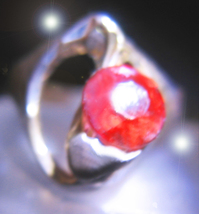 Offer Only Haunted Ring Ooak 77x Witches Passion & Attract Magick 925 7 Scholars - $200.00