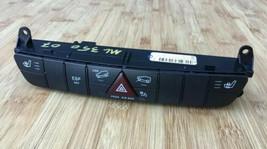 06-12 Mercedes X164 GL450 GL550 ML550 Hazard Control Switch Panel 1648709210 OEM - $29.65